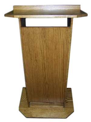All Wood Podium