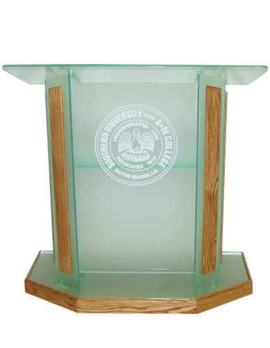 Frosted Glass Color High End Podium