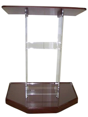 Clear Large Standard Acrylic Podium