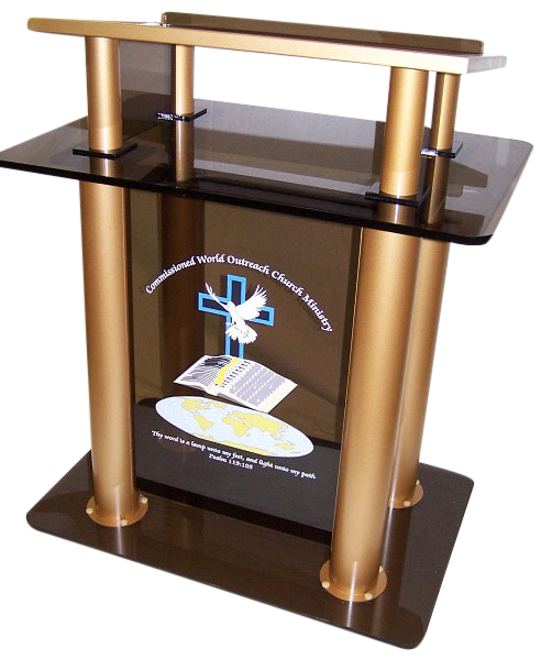 Pillar Acrylic Podium