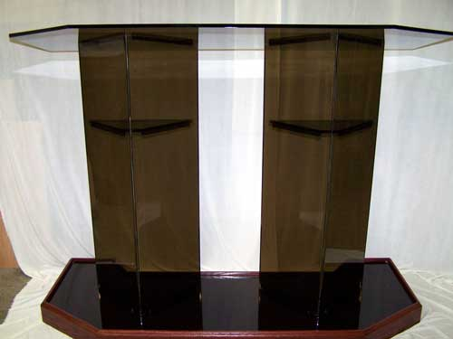 Double Wide Acrylic Podium